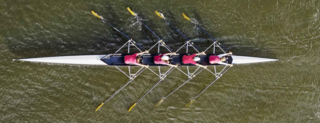 """If you could get all the people in an organization rowing in the same direction, you could dominate any industry, in any market, against any competition, at any time.""  ~Patrick Lencioni, The Five Dysfunctions of a Team"